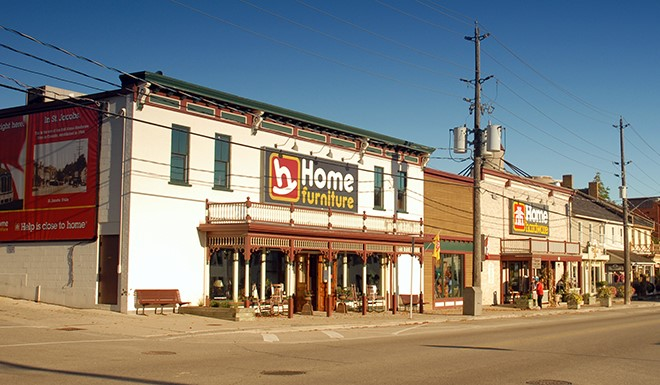 Home Hardware building St Jacobs Ontario660